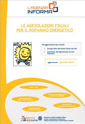 Detrazioni fiscali 65 per l 39 efficienza energetica guida for Detrazione fiscale stufe a pellet agenzia entrate