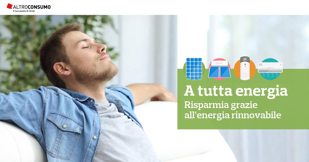 Efficienza energetica nelle abitazioni una partnership - Altroconsumo fotovoltaico ...