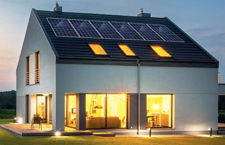 La casa autarchica mix di tecnologie rinnovabili per for Raccordo meno costoso per la casa