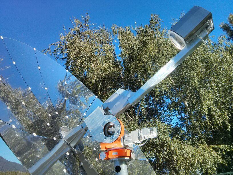 Pannello Solare Termodinamico A Concentrazione : Il solare termodinamico sul tetto di casa qualenergia