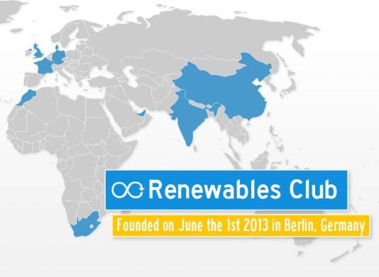 I 10 paesi del Club delle Rinnovabili … senza l'Italia
