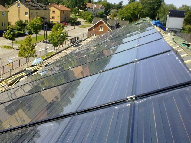 Il solare termico con lo scambio sul posto