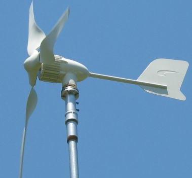 Una mini turbina eolica a sfera che cattura il vento da for Turbine eoliche domestiche